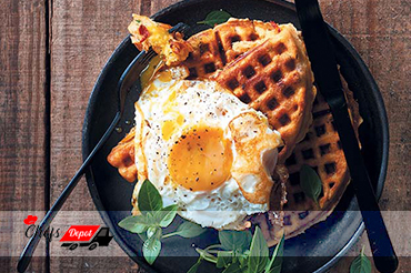 Savoury-breakfast-waffles-1 Don't overlook the importance of breakfast at  your B&B